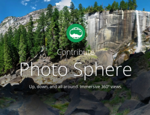 Google photosphere: Εικoνικές περιηγήσεις στο google maps