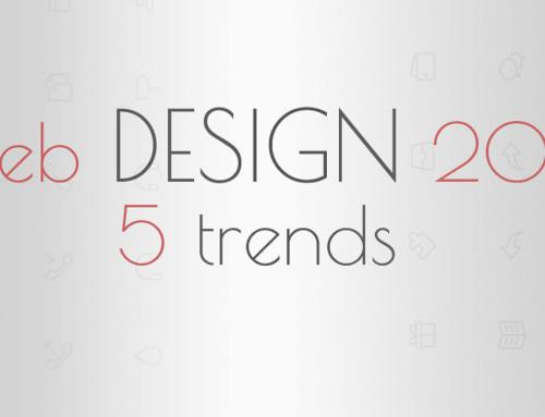 Σχεδιασμός ιστοσελίδων 2016: 5 τάσεις
