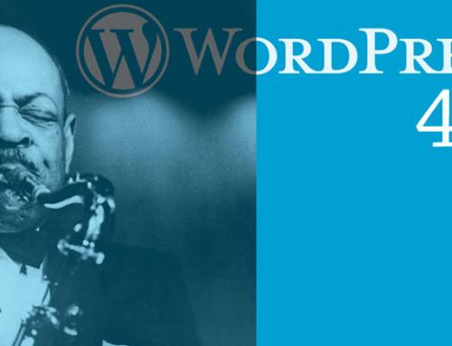Τι νέο υπάρχει στο wordpress 4.5 ;