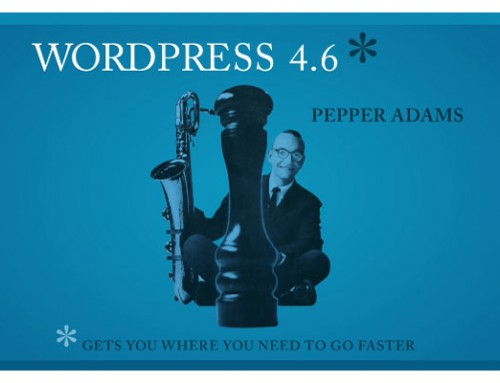 Δοκιμάζουμε τo νέο WordPress 4.6 (Features and Screenshots)