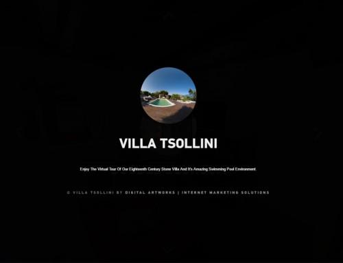 Εικονική περιήγηση Villa Tsollini
