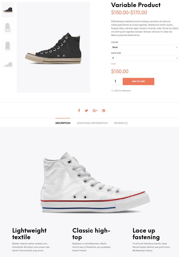 Παρουσίαση προϊόντος e-shop