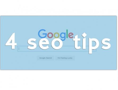 SEO Google : 4 Νέα πράγματα που πρέπει να γνωρίζετε