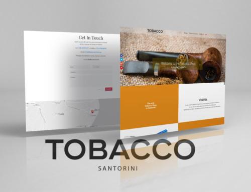 Σχεδίαση και κατασκευή ιστοσελίδας καπνοπωλείου
