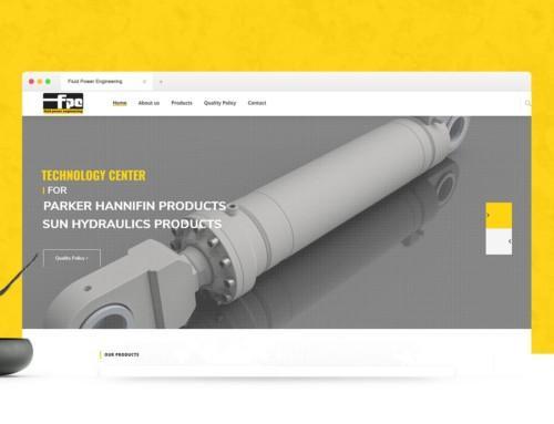 Εταιρική ιστοσελίδα με Παρουσίαση Προϊόντων